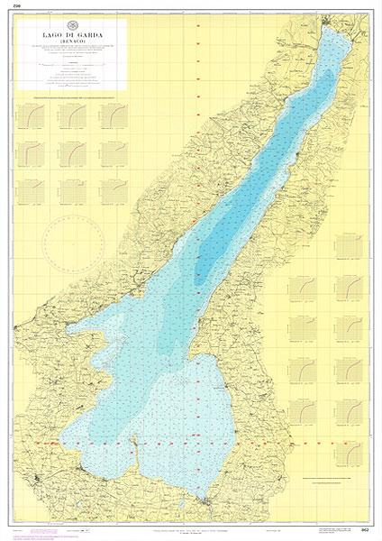 Lago Di Garda Cartina Fisica.Lago Di Garda Benaco