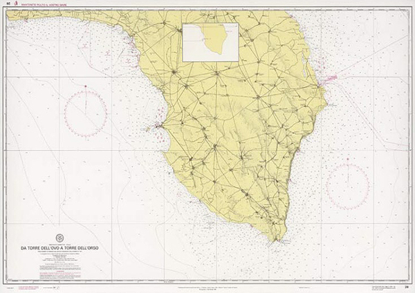 Mappa Nautica Puglia.Da Torre Dell Ovo A Torre Dell Orso